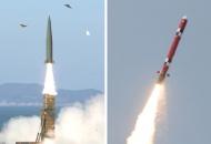 군, 북 로켓 '맞불용' 국산 미사일 첫 공개