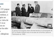 """스페인 """"미, 45년 전 핵추락 현장 정화하라"""""""