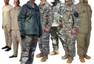 한국군 전투복