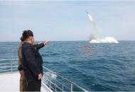 북한의 잠수함발사 미사일 실험 파장