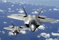 세계 최강 전투기 F-22 '굴욕의 반쪽비행'